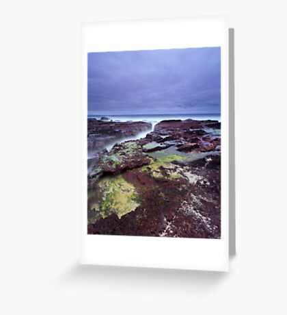 """""""Red Earth"""" ∞ Haycock Point, NSW - Australia Greeting Card"""