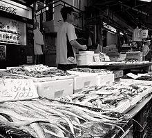 Fancy Fresh Fish - Japan by Norman Repacholi