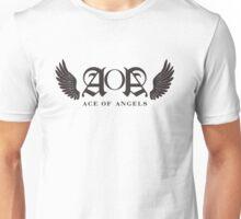 AOA Logo Black Unisex T-Shirt