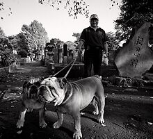 Bulldog Pride - Japan by Norman Repacholi