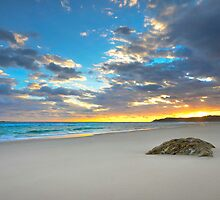 Home Beach - Nth Stradroke Is. Qld Australia by Beth  Wode