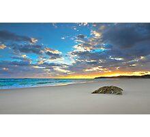 Home Beach - Nth Stradroke Is. Qld Australia Photographic Print