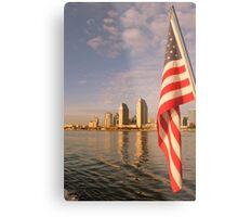 Patriot. Metal Print