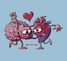 Heart and Brain: A Love Story T-Shirt
