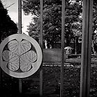 Entrance to Tokugawa Yoshinobu Haka - Japan by Norman Repacholi