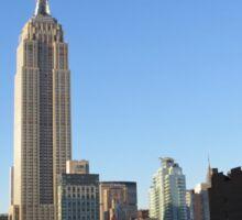Rooftops of Manhattan Sticker