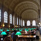 Boston Public Library by Julie Paterson