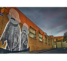 The twins are back in North Melbourne Photographic Print
