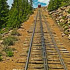 Comin' Down the Mountain - Cog Rail on Pikes Peak by TonyCrehan