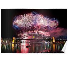 Sydney Fireworks 2011-12 Poster