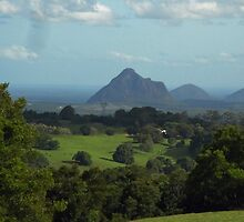 Glass House Mountains by STHogan
