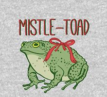 MistleToad - Funny Toad - Christmas - Holiday Long Sleeve T-Shirt