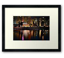 City Outpost (HDR) Framed Print