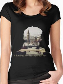 I Survived The Reichenbach Fall #2 Women's Fitted Scoop T-Shirt