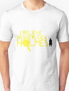 I Believe In Sherlock V.2 (Graffiti) Unisex T-Shirt