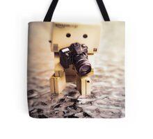 Danbo and Camera Tote Bag