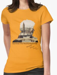 I survived Reichenbach - WRONG! Womens Fitted T-Shirt