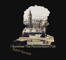 I didn't survive the Reichenbach Fall Unisex T-Shirt