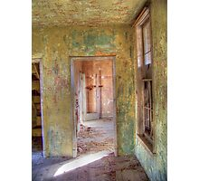Weathered Rooms Photographic Print