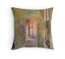 Weathered Rooms Throw Pillow