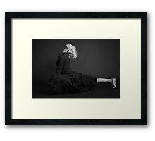Lisa - Mukti Yoga Framed Print