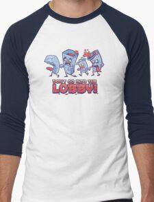 Don't go into the Lobby! Men's Baseball ¾ T-Shirt
