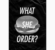 What She Order? Fish Fillet / Uppercase Unisex T-Shirt