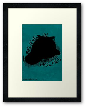 I Believe In Sherlock Poster 3 by KitsuneDesigns