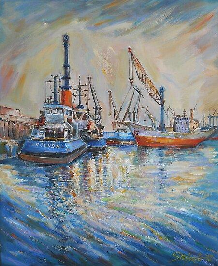 Cargo Port by Stefano Popovski