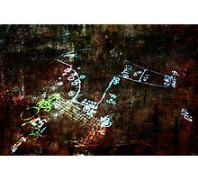 Abstract Street Graffiti Photographic Print