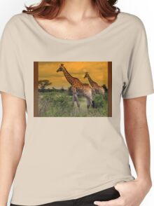 """""""Let's stroll !"""" Women's Relaxed Fit T-Shirt"""