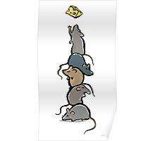 rat stack Poster