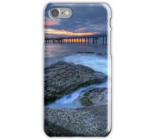 Sunrise at the Pier iPhone Case/Skin