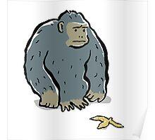 sad ape Poster
