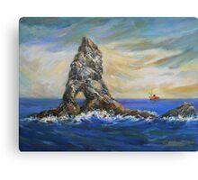 Colombretes Island Canvas Print