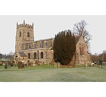 South Wingfield Parish Church, S. Wingfield, Derby's Photographic Print