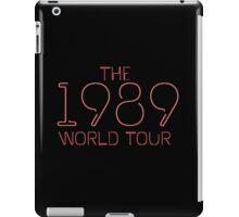 1989 Red iPad Case/Skin