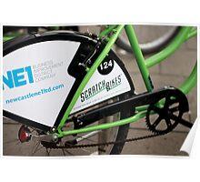 Newcastle Bikes Poster