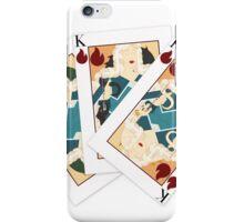 Khaleesi Playing Card Spread iPhone Case/Skin