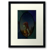 Historic Orc Lady Framed Print