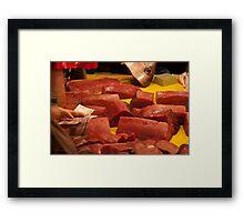 Raw exchange 1 Framed Print