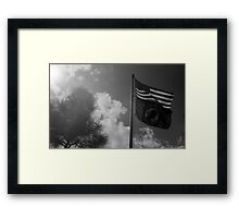 You are not forgotten - POW MIA Framed Print