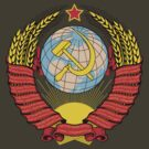Soviet Coat of Arms by Carl Greenwood