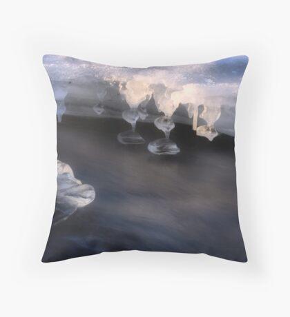 Ice Sculptures Throw Pillow