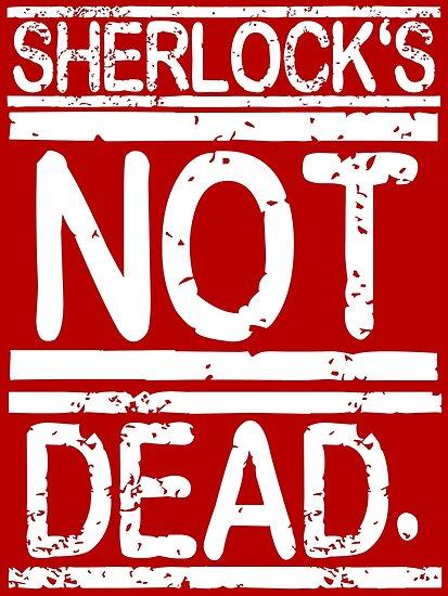 SHERLOCK'S NOT DEAD. by nimbusnought