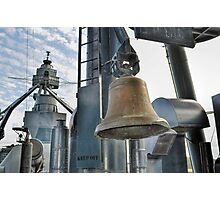 Battleship Texas - Ships Bell Photographic Print