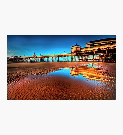 The Pier Goes On Photographic Print