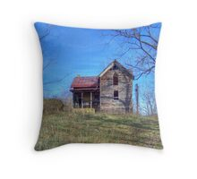 The Sheetz House Throw Pillow