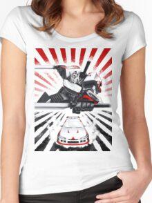 Drift Transformer! Women's Fitted Scoop T-Shirt