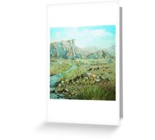 Crossing place Greeting Card